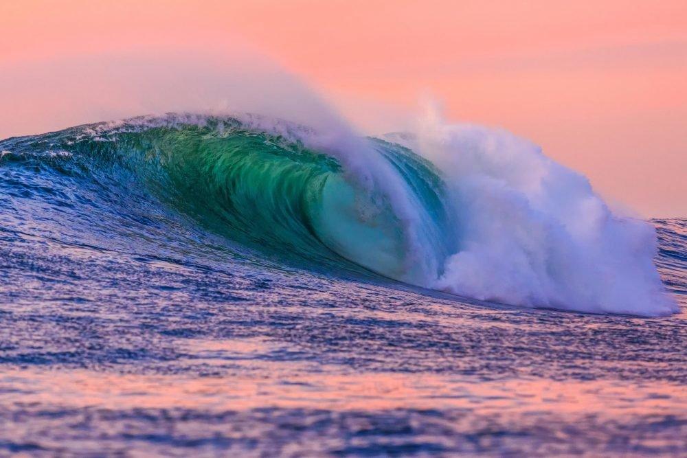 Картинки морская волна изумрудная