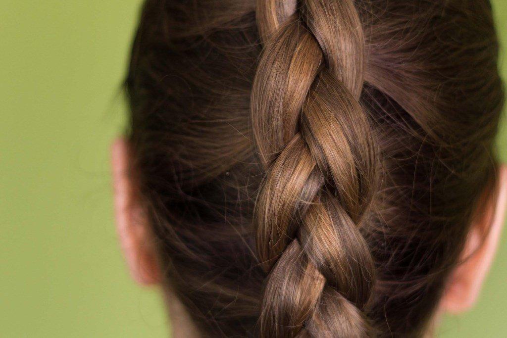картинка колосок из волос наше время