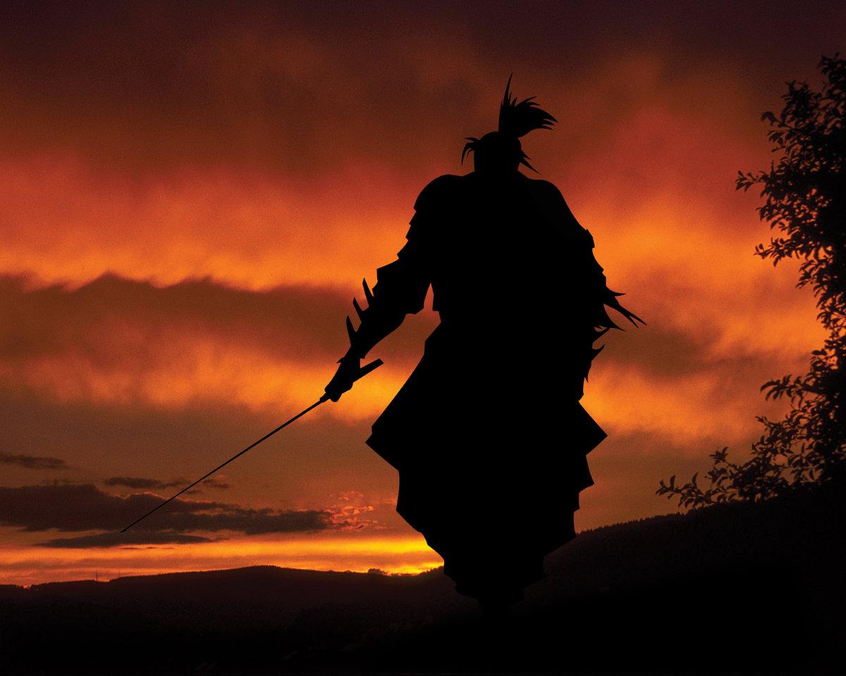 картинки про самураев перековать