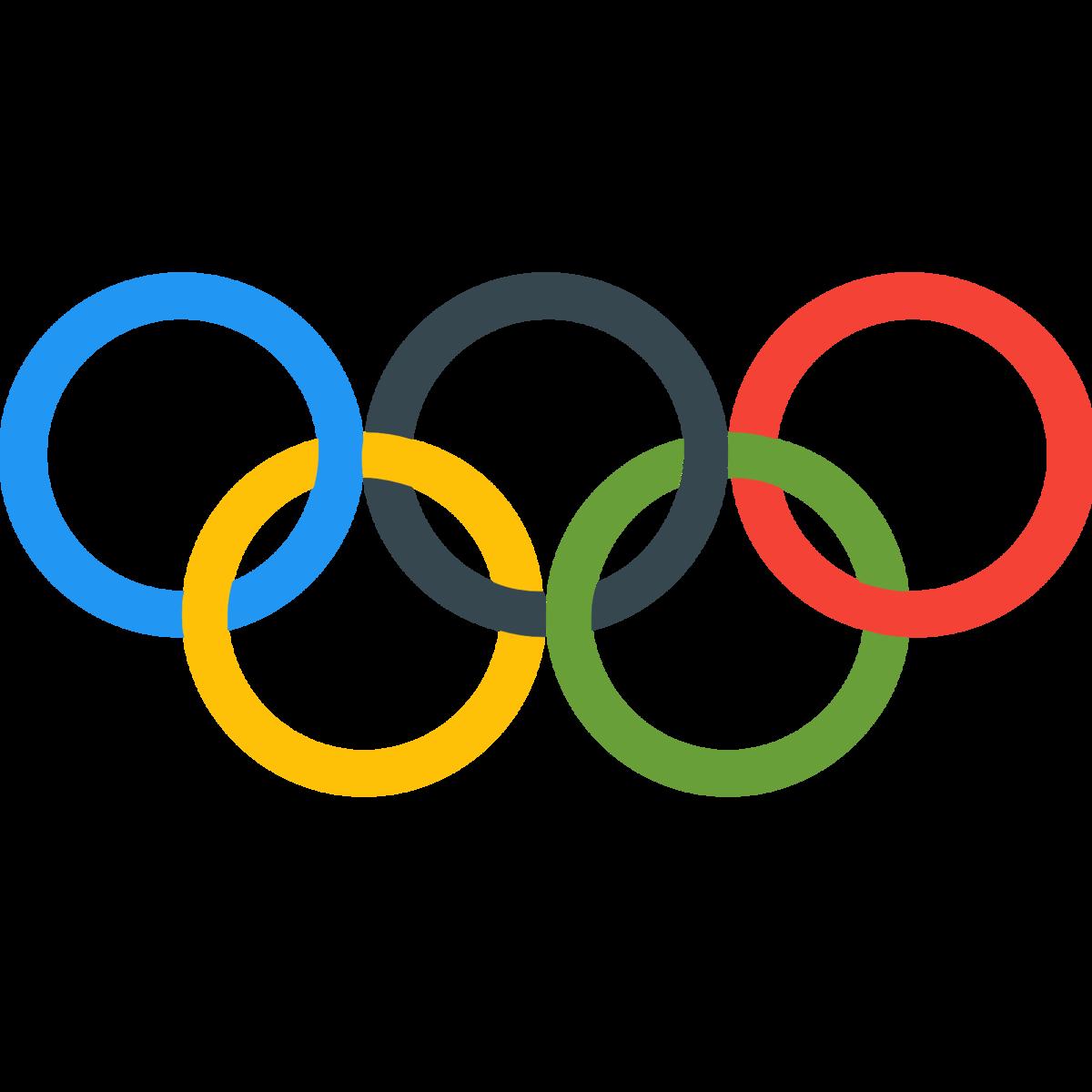 Картинка с логотипом олимпийских игр