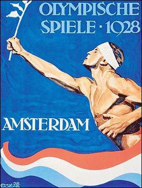 Постер летних Олимпийских игр 1928