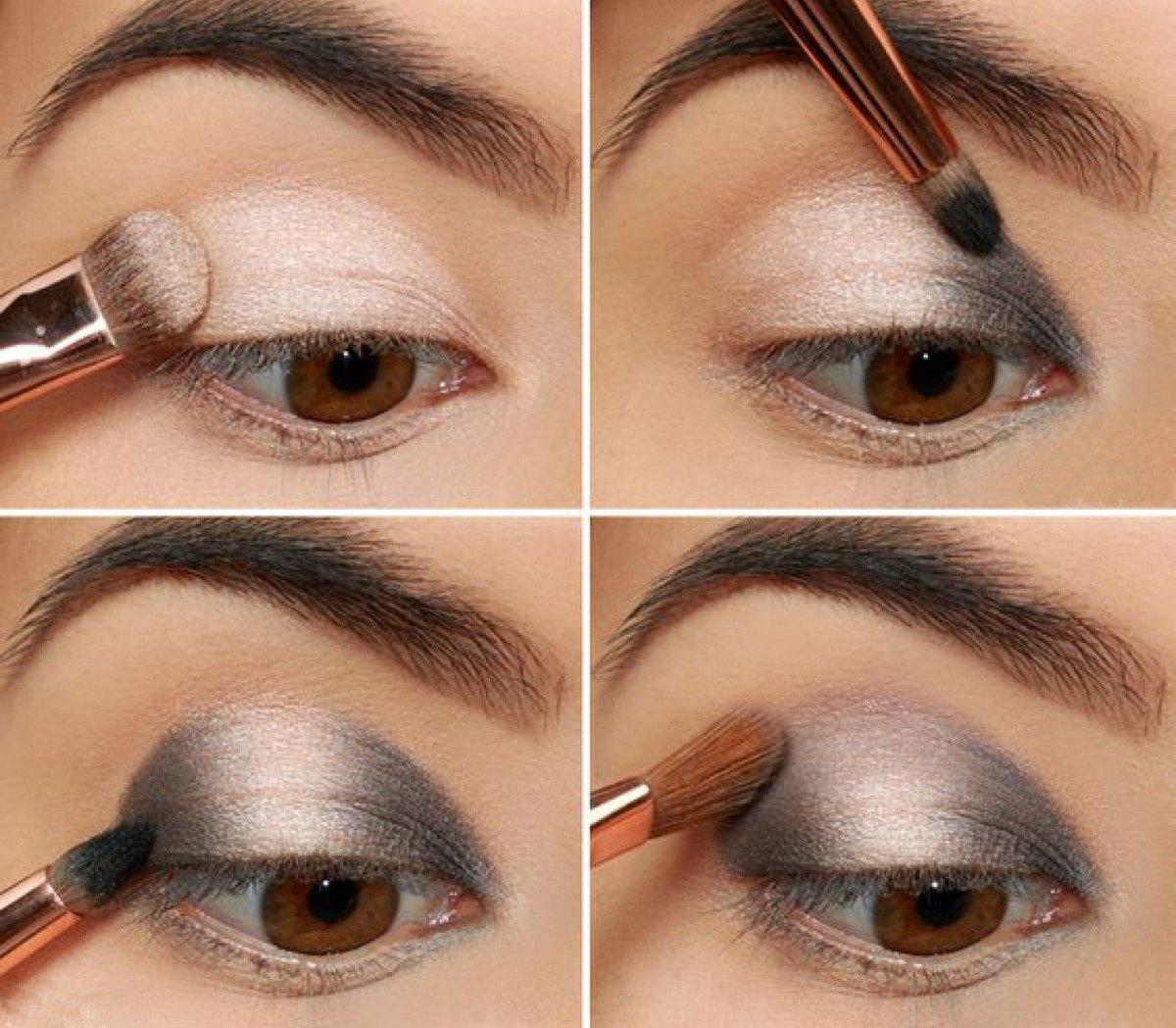 Пошаговые инструкции макияжа с картинками