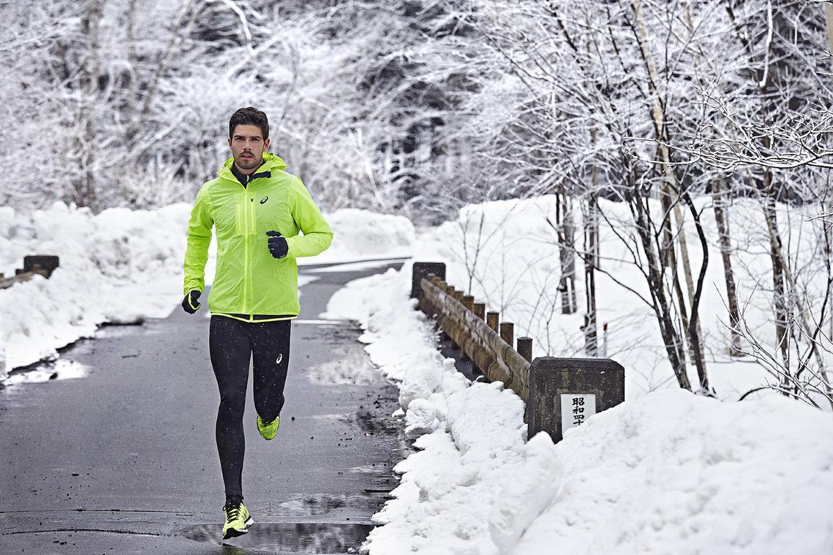 лук картинка бегущий человек зимой гайкой