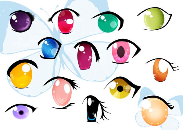 глаза няшные рисунок именно это
