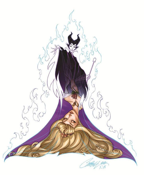 Картинки добрая и злая принцесса
