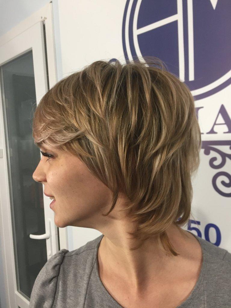 калифорнийское мелирование фото на короткие волосы больше