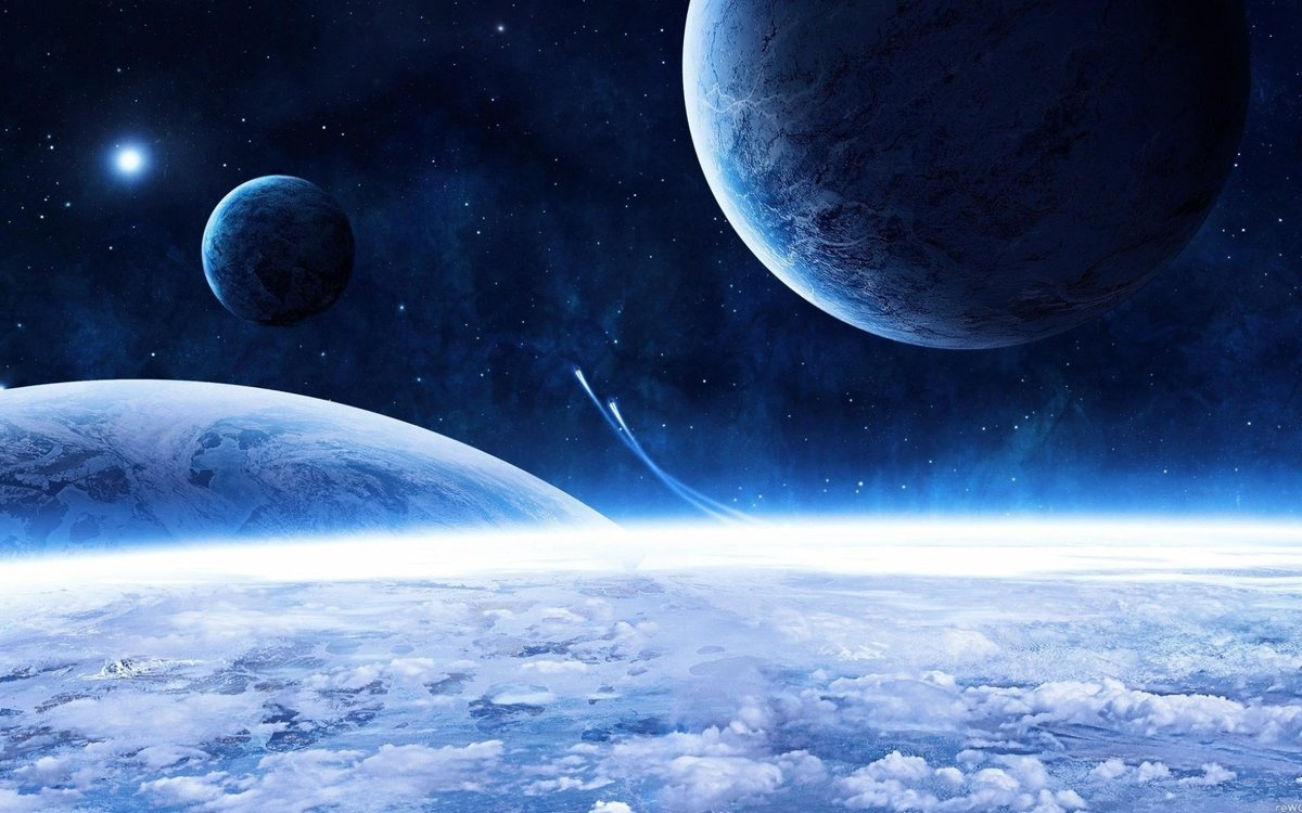 Картинки небо звезды планеты