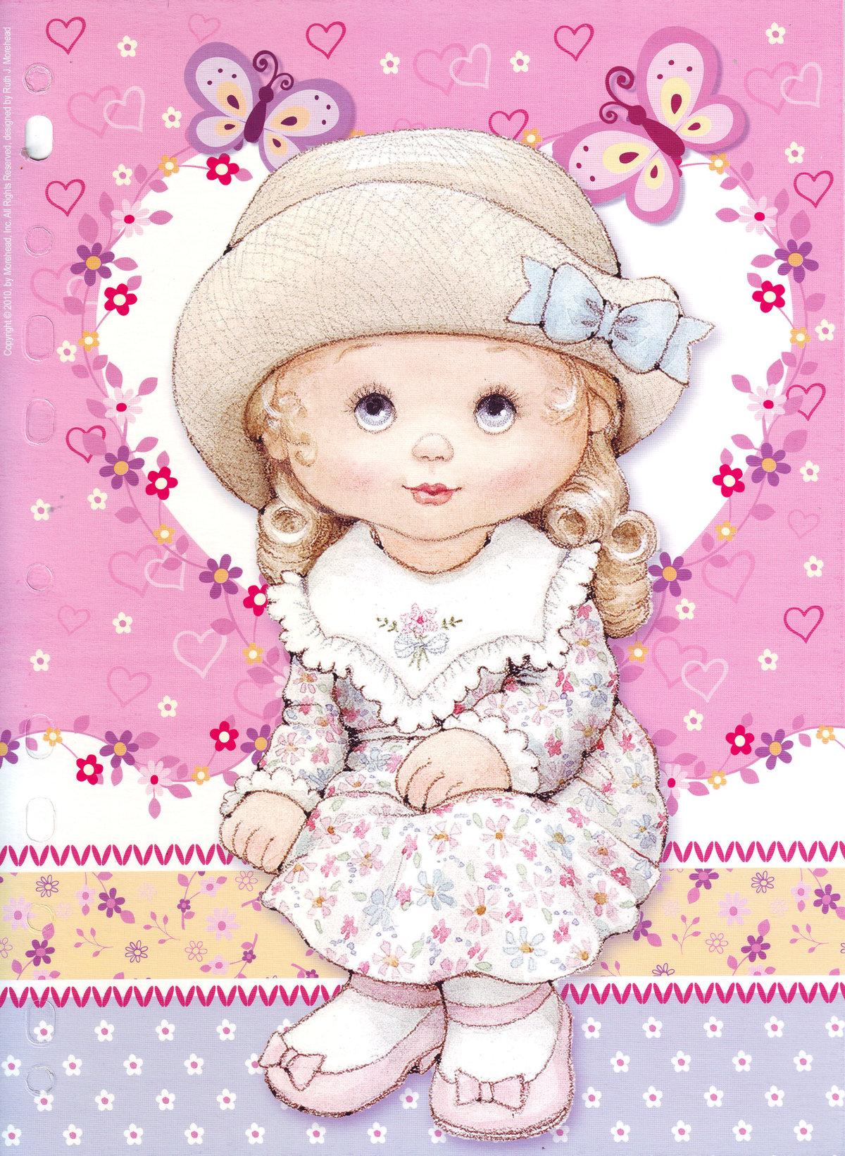 Живые, кукла-ребенок открытка