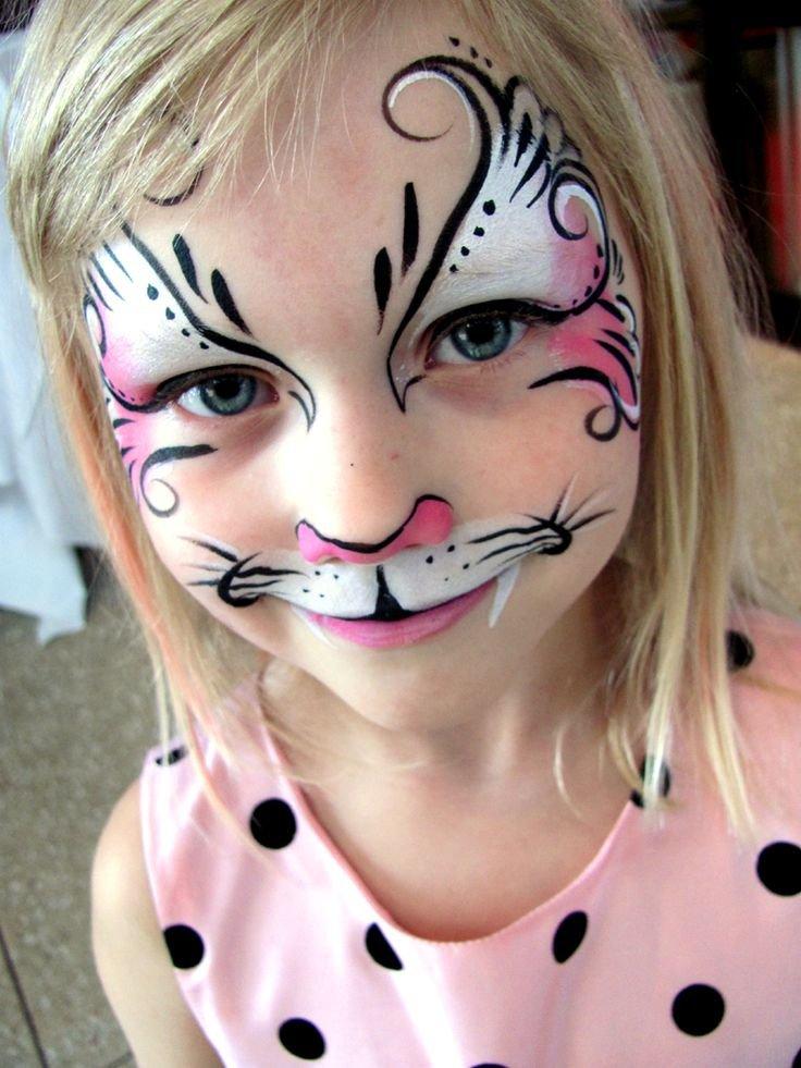 аквагрим рисунок кошка том
