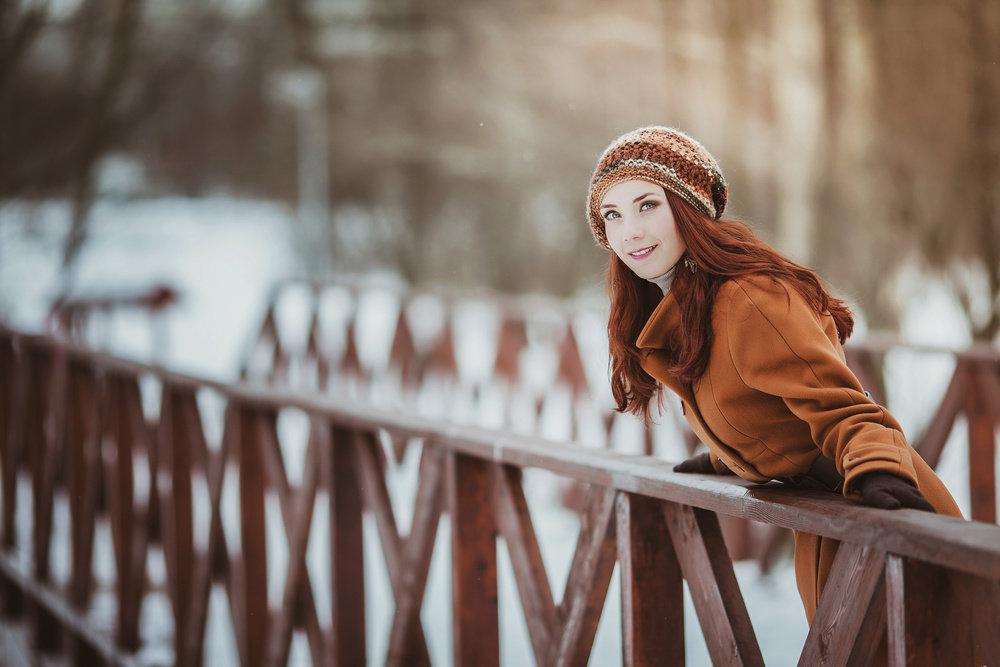 идеи для прогулочной фотосессии зимой на улице нас можно