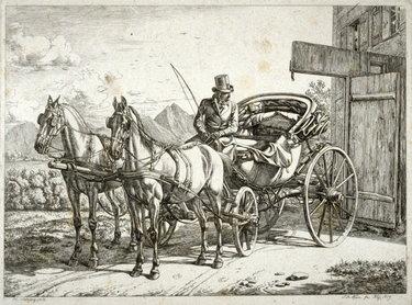 двуколка 19 век