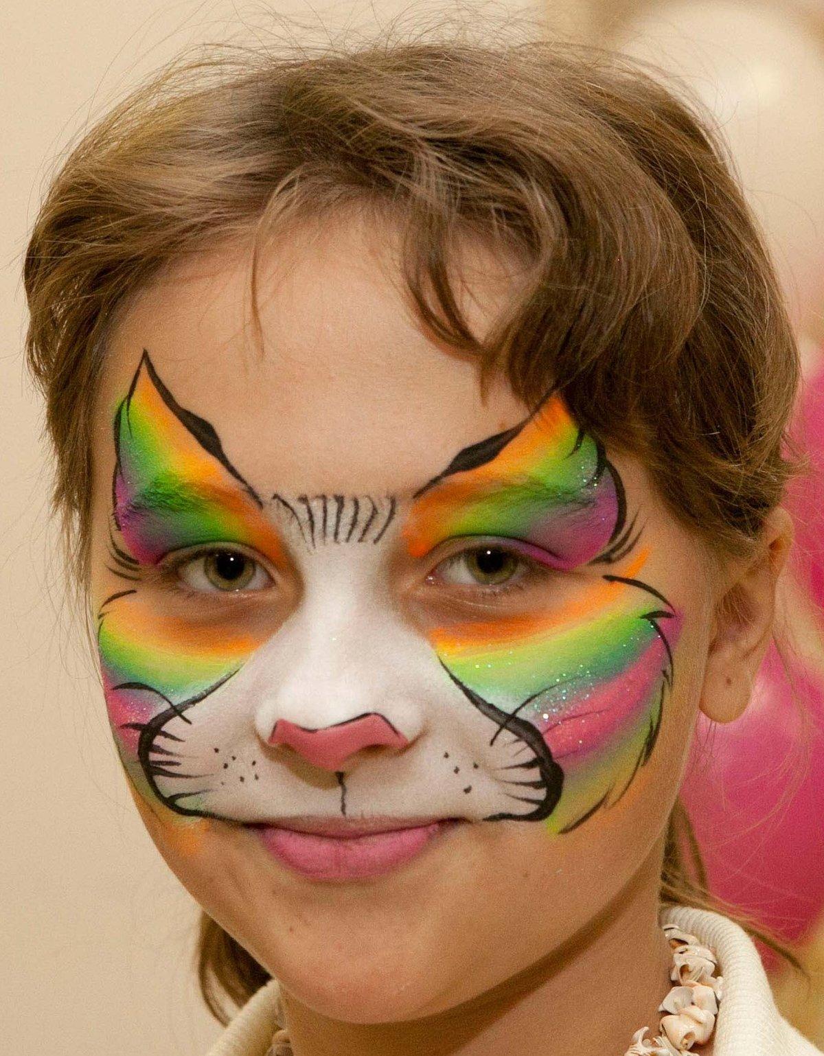 Картинки нарисовать для детей на лице
