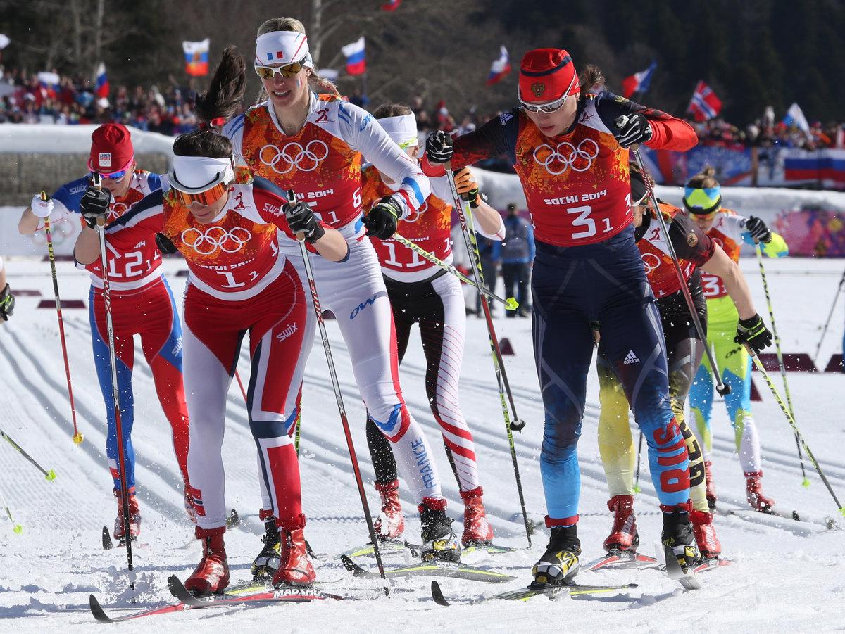 лыжный спорт фото картинки наших
