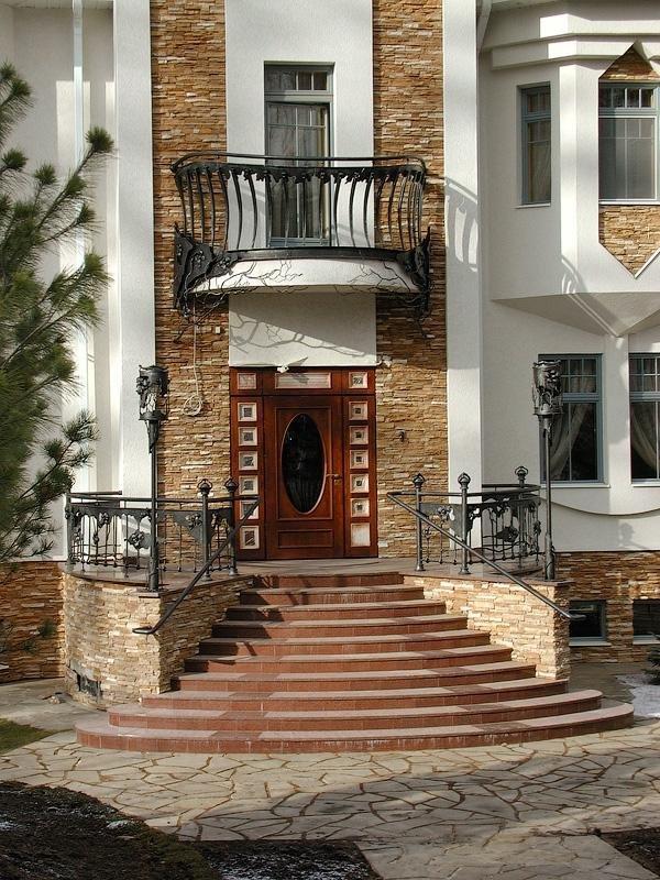 Лестница вход в дом фотогалерея