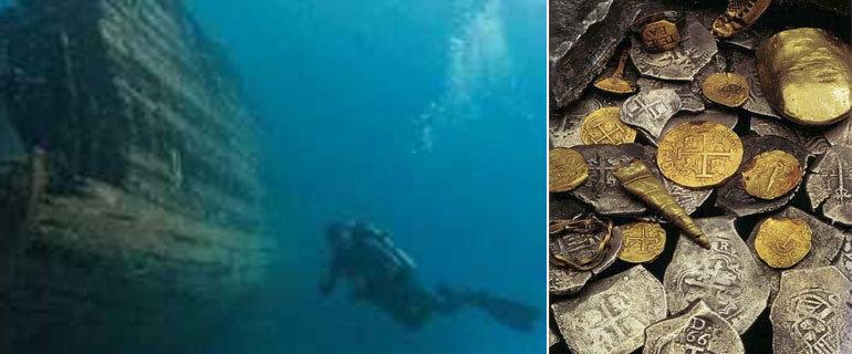 25 марта 1997 года у берегов Эквадора обнаружен легендарный морской клад