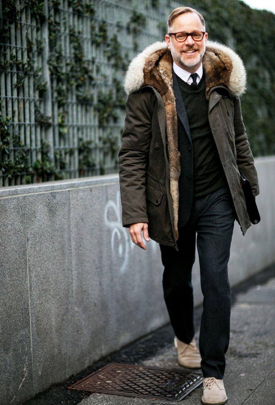 как одеваются стильные мужчины зимой фото бы, уже