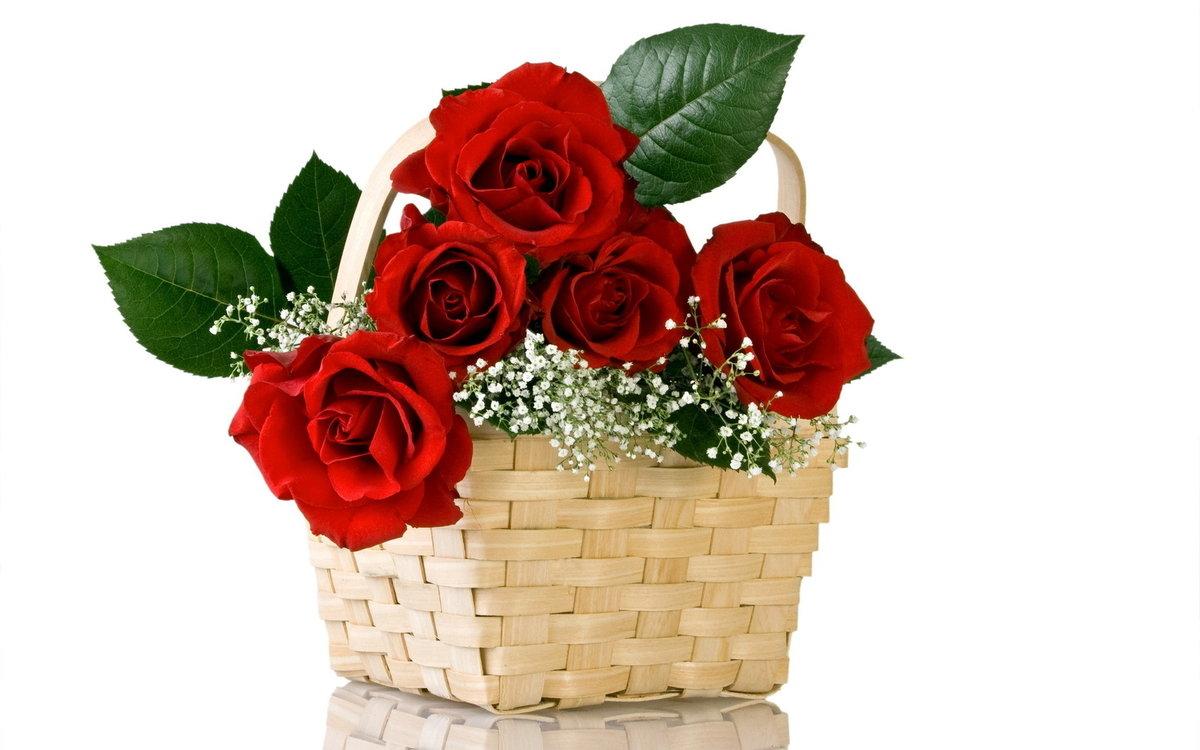 Для, поздравления в открытки с цветами
