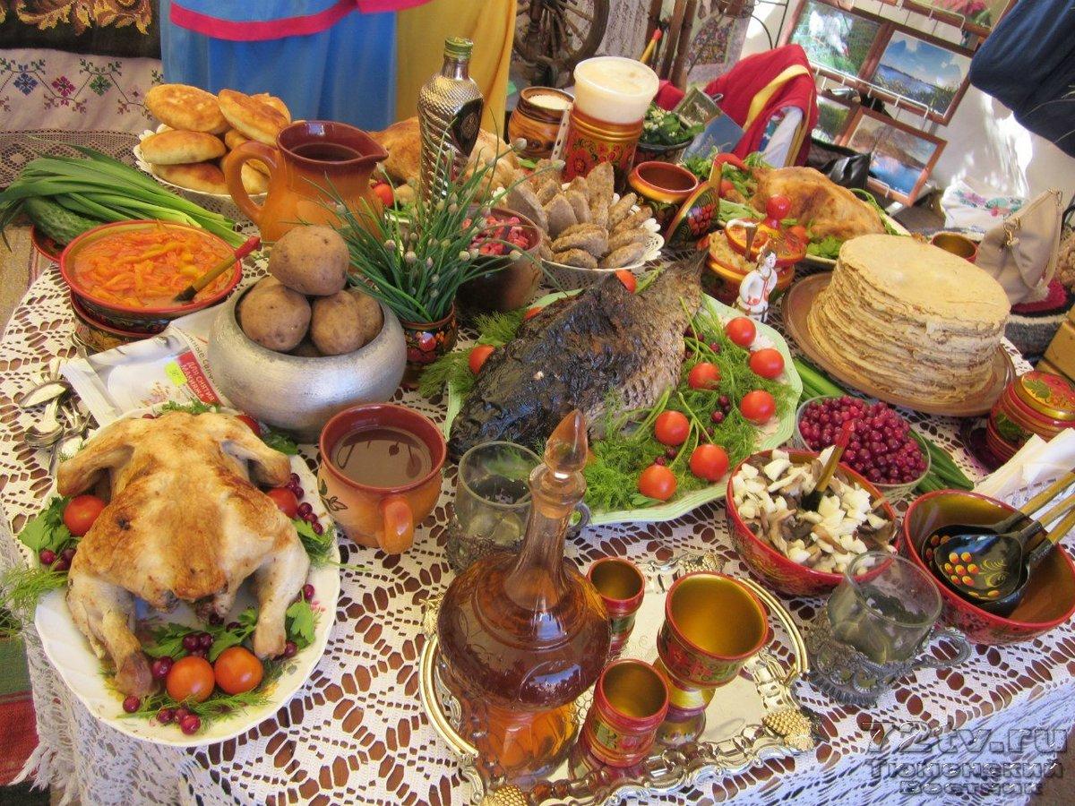 весна фото старинных праздничных столов календарю период благоприятных