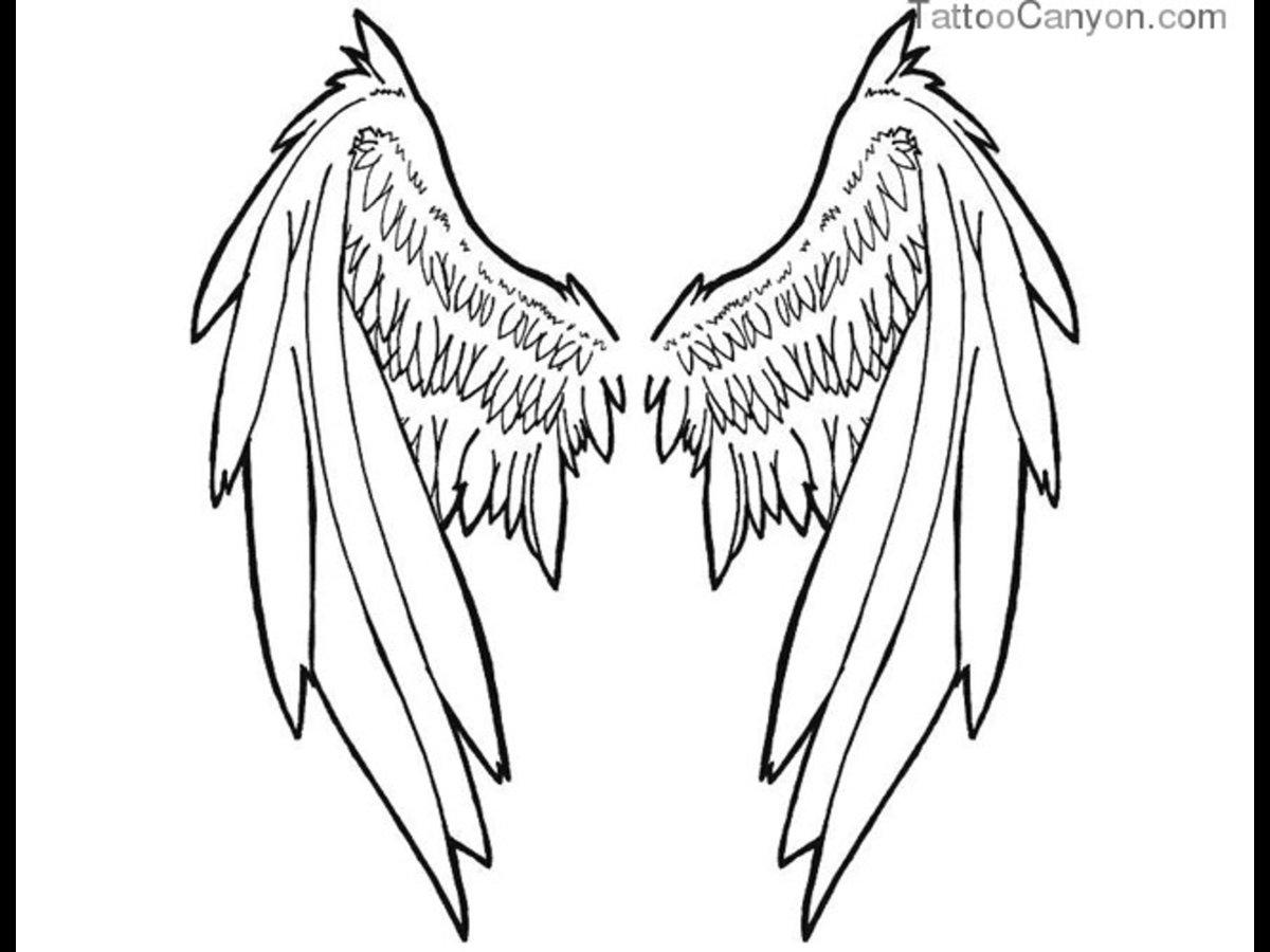 пока картинки контур ангелов с крыльями трахает маму после