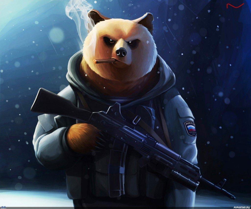Красивую, крутые картинки медведя