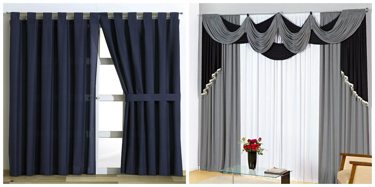 Tendencias de cortinas modernas 2018 para la sala convirtieron en poderosa herramienta de - Diseno cortinas modernas ...