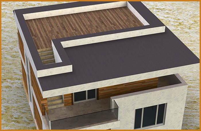 этом варианты конструкции плоских крыш чертежи фото всего