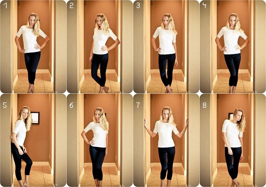 сделать как расположить ноги на фото наглядно
