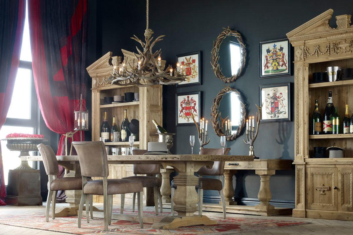 Эклектичный дизайн вместе с винтажными элементами создают поистине неповторимую атмосферу.