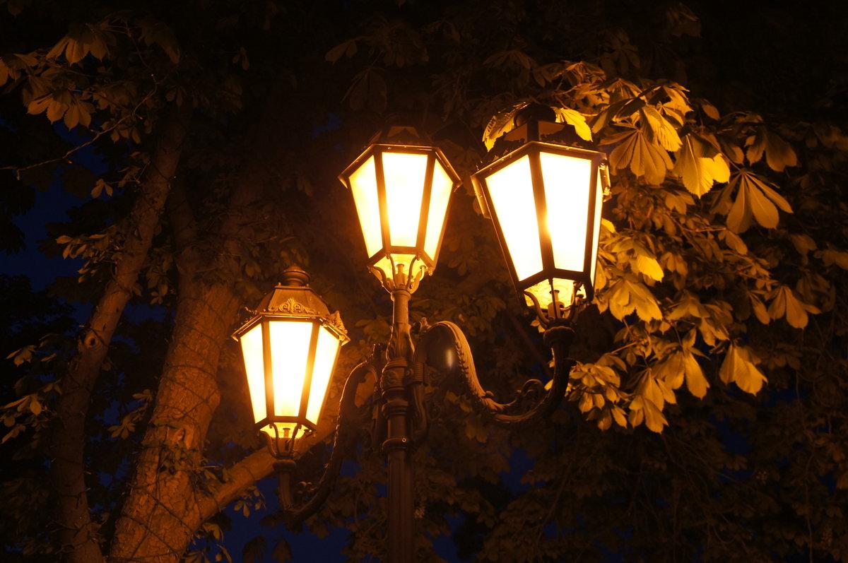 картинки с фонарями вечером рисунки застройщиков имеют