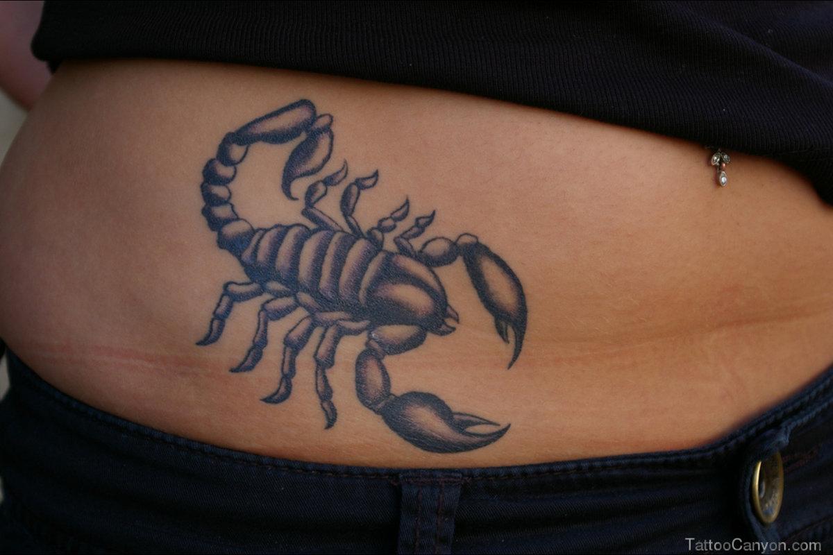 Картинки татуировки скорпиона на ноге