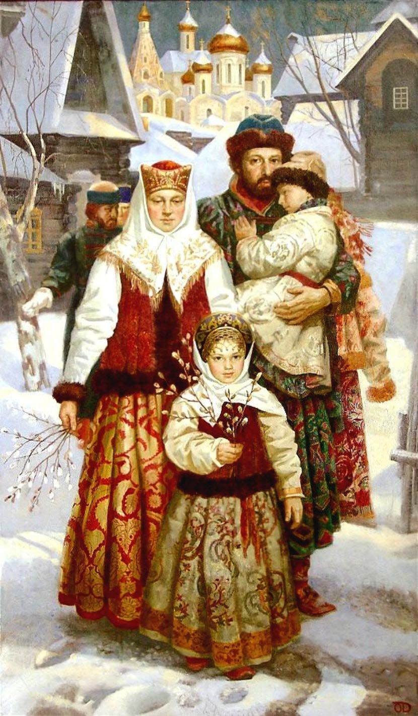 Форме рубашки, семейные традиции старорусские картинки