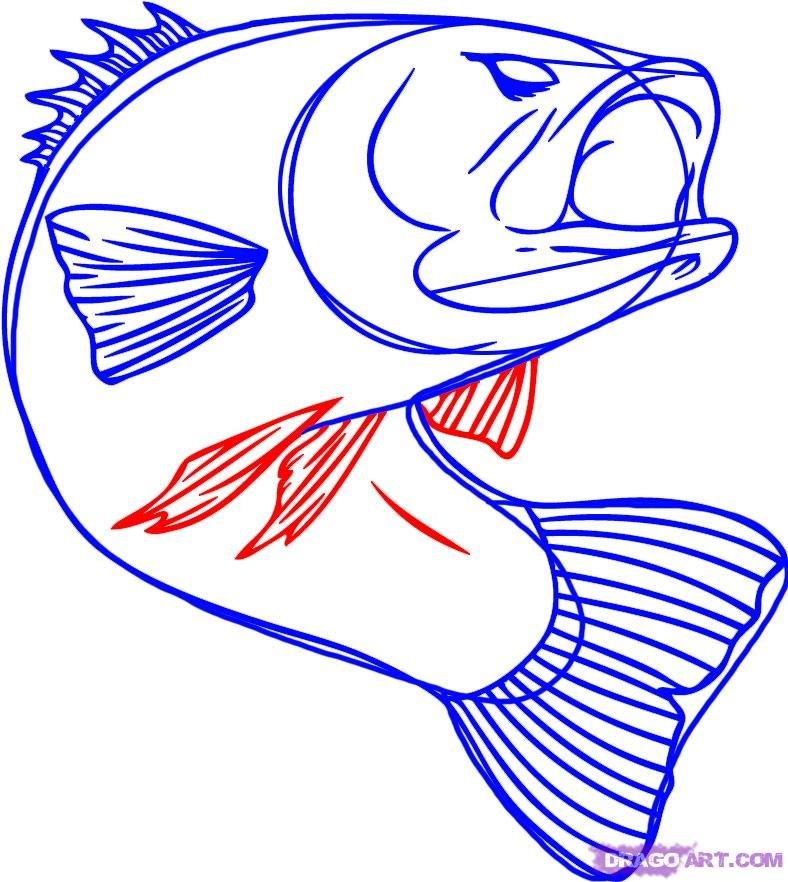 картинка рыбы нарисовать понять, какой монстрик
