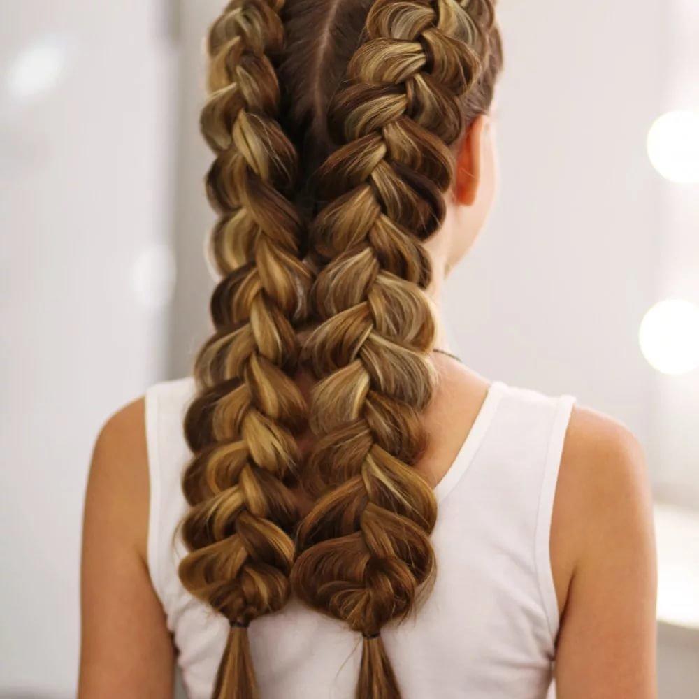 Коса наизнанку картинки