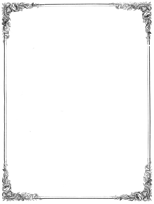 Простая рамка для открытки, моя