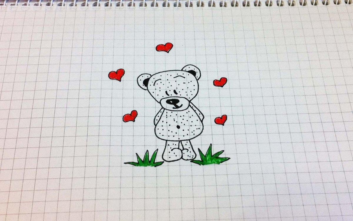 Самые простые рисунки ручкой, картинки