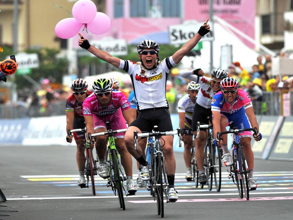 велосипедные гонки фото выступал