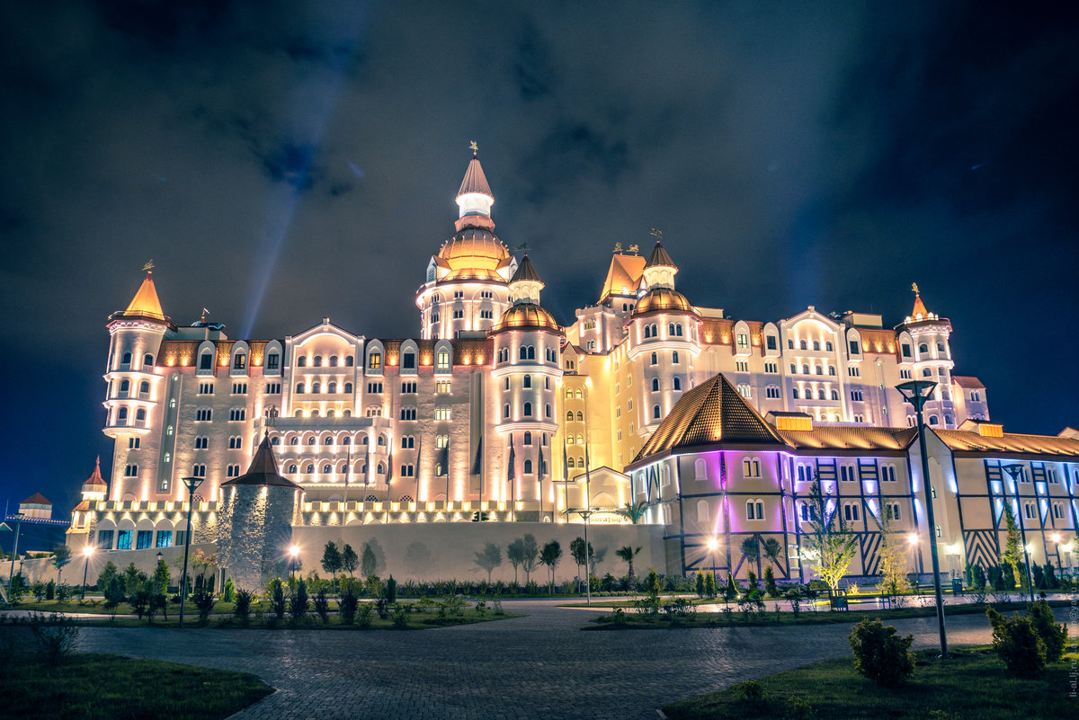 Отель богатырь картинка
