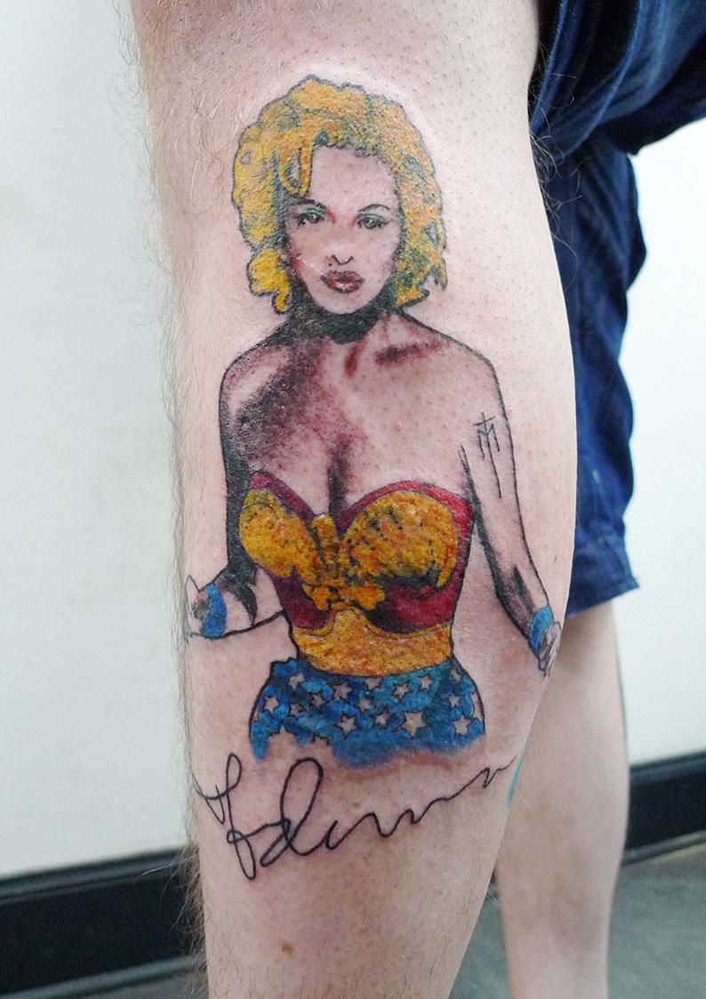 pop art tattoo tumblr - HD794×1123