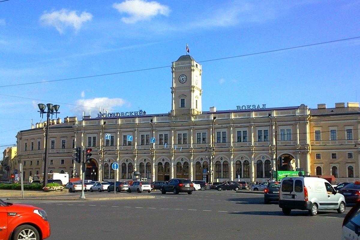 Московский вокзал смотреть в картинках