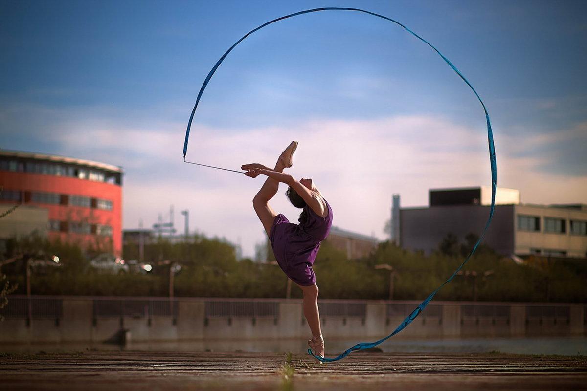 девушки и гимнастика фото