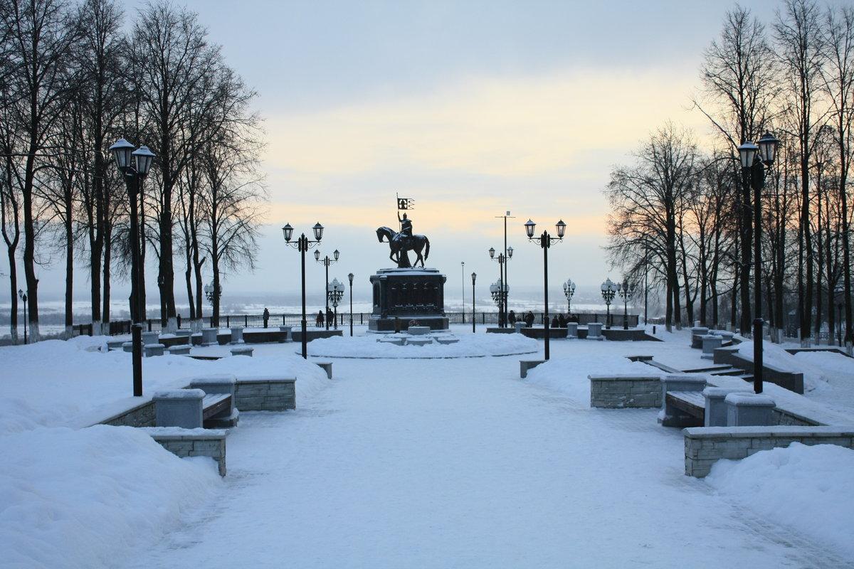 парки города владимира фото красные