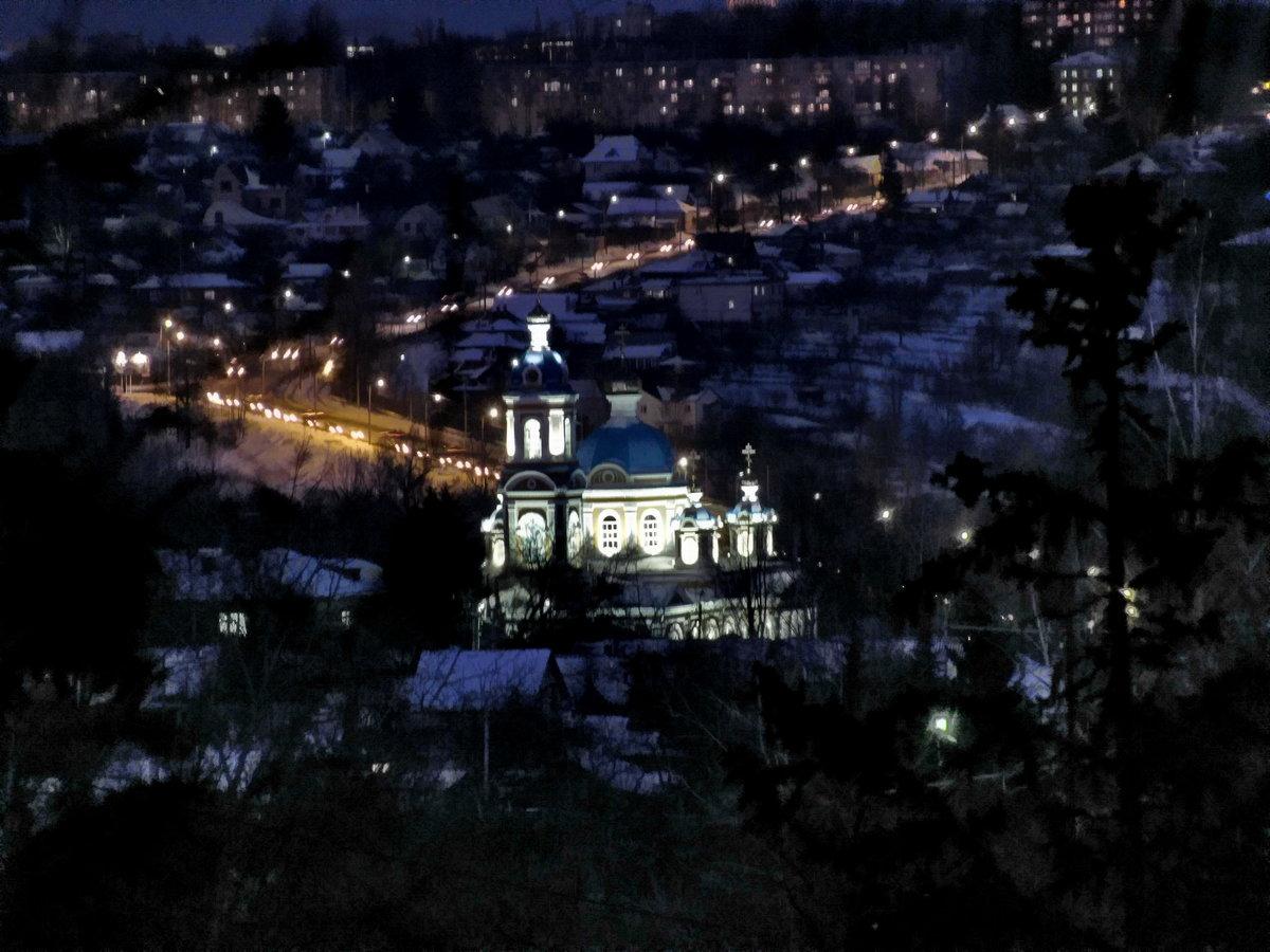 ночной курск фото города планом красивой