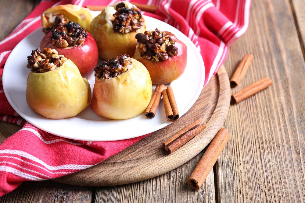 Печеные Яблоки В Диете. Печеные яблоки для похудения