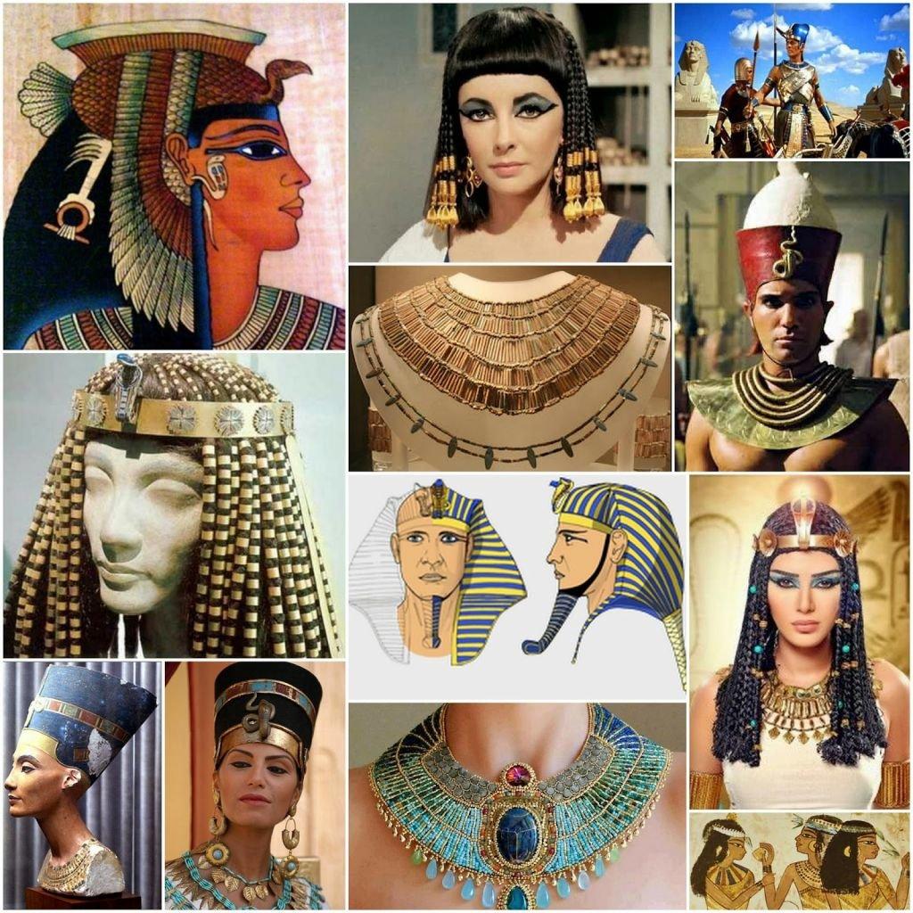 украшения древних египтян картинки уже собрал