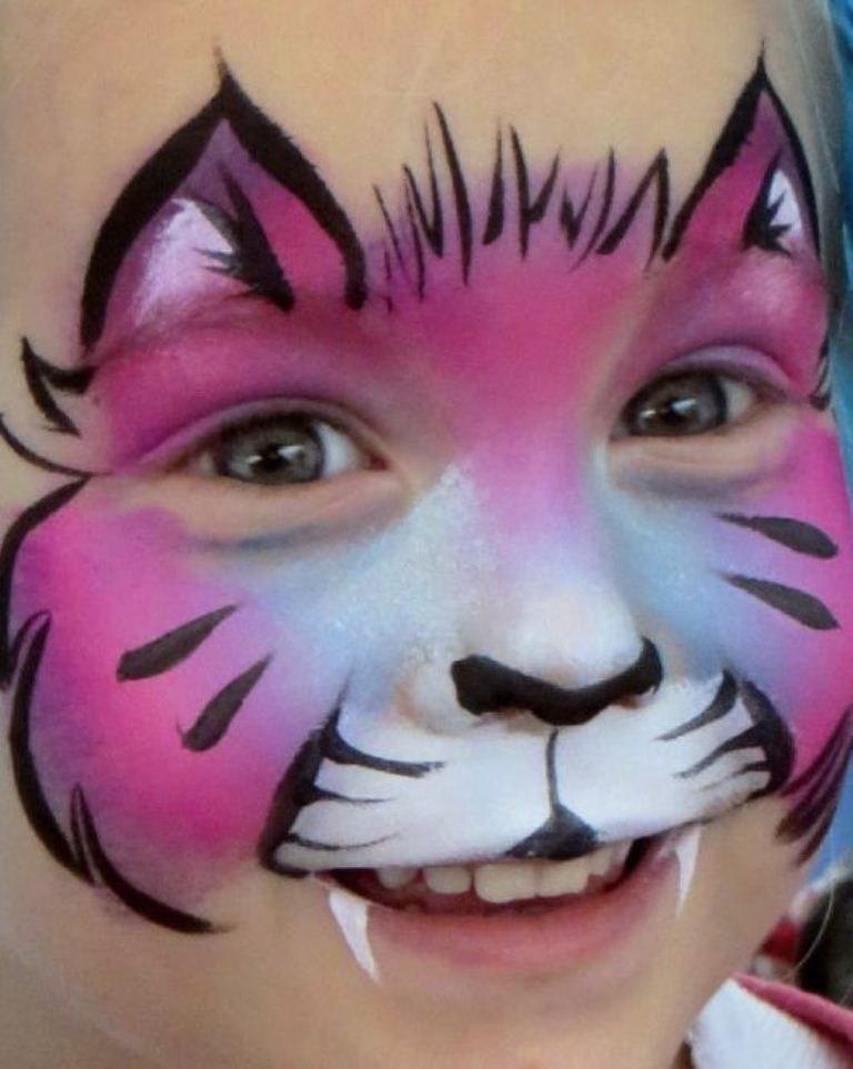 аквагрим рисунок кошка было