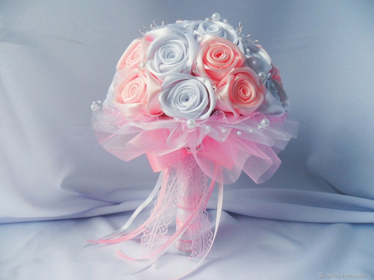 Как сделать свадебный букет для невесты