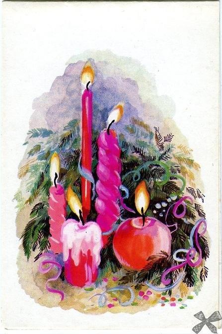 помощница новогодние открытки рисунок гуашью холодные, или почти