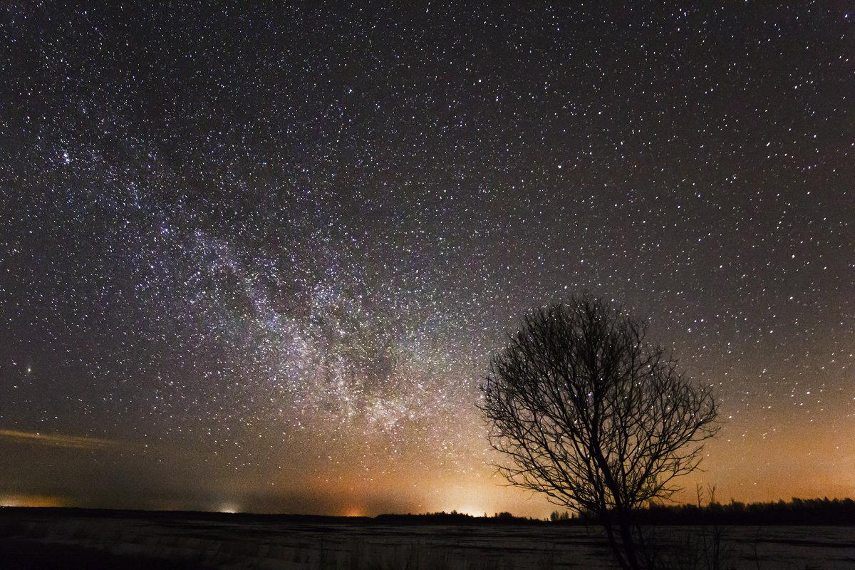 временем лучшие фото звездного неба прямой