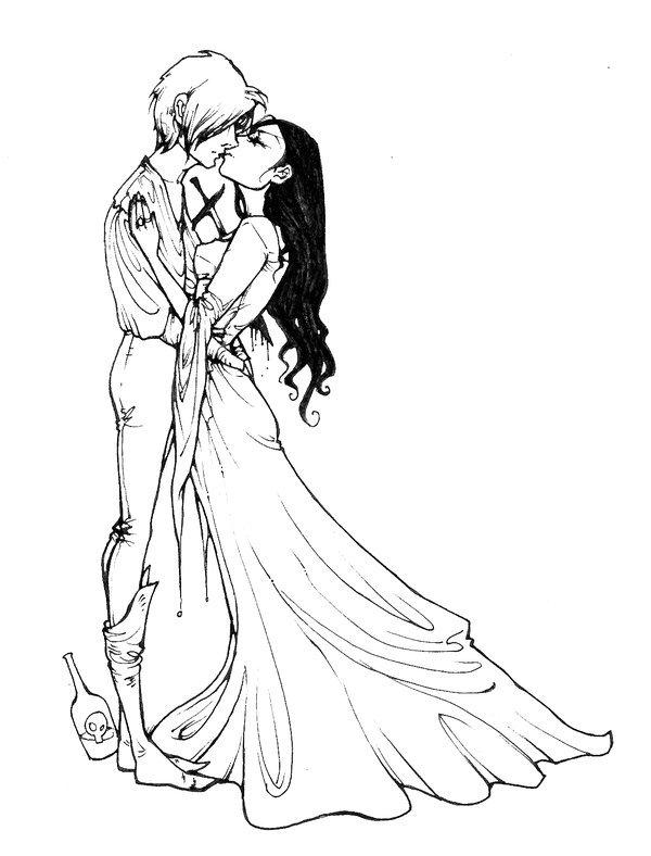 Картинка ромео и джульетта для срисовки