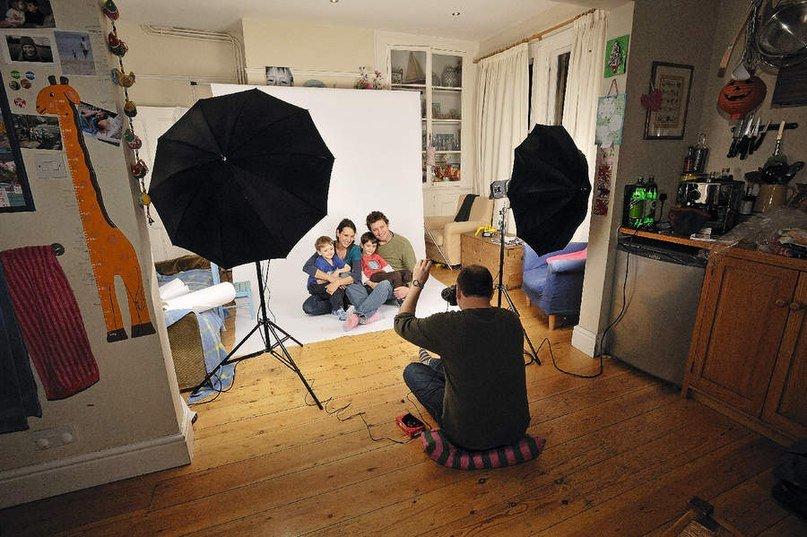 него создать в дом условиях фотостудию своей страничке